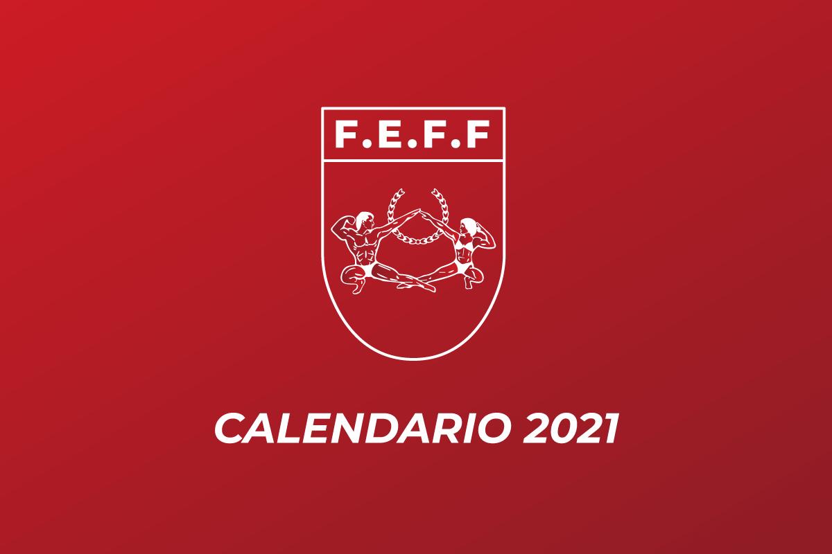Calendario IFBB España 2021