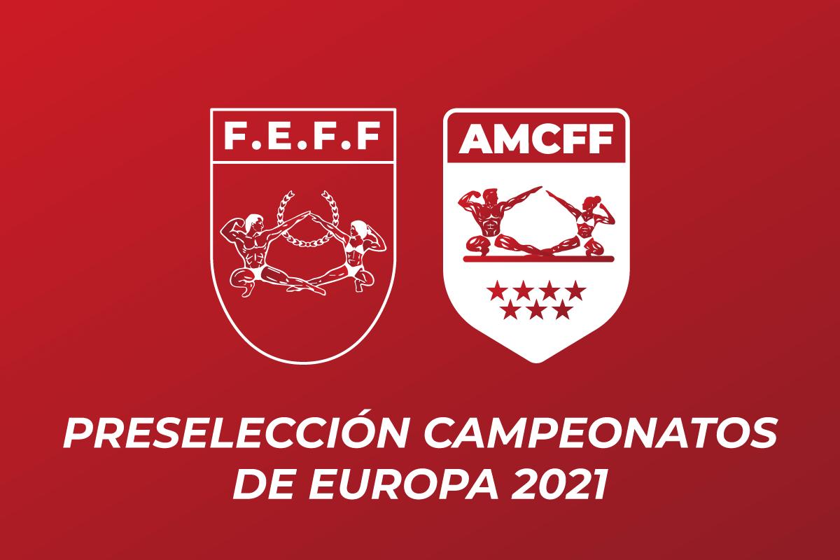 Preselección Campeonatos Europa 2021